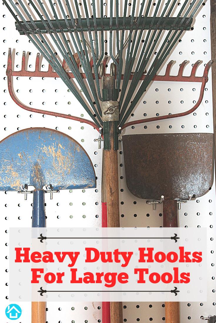 Heavy Duty Hooks Large Tools