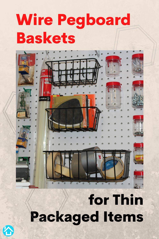 Pegboard Baskets