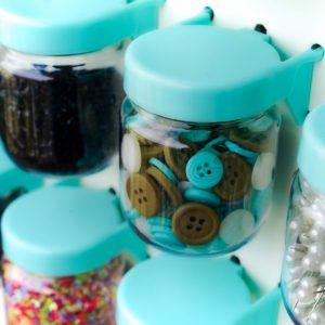 Pegboard Jars