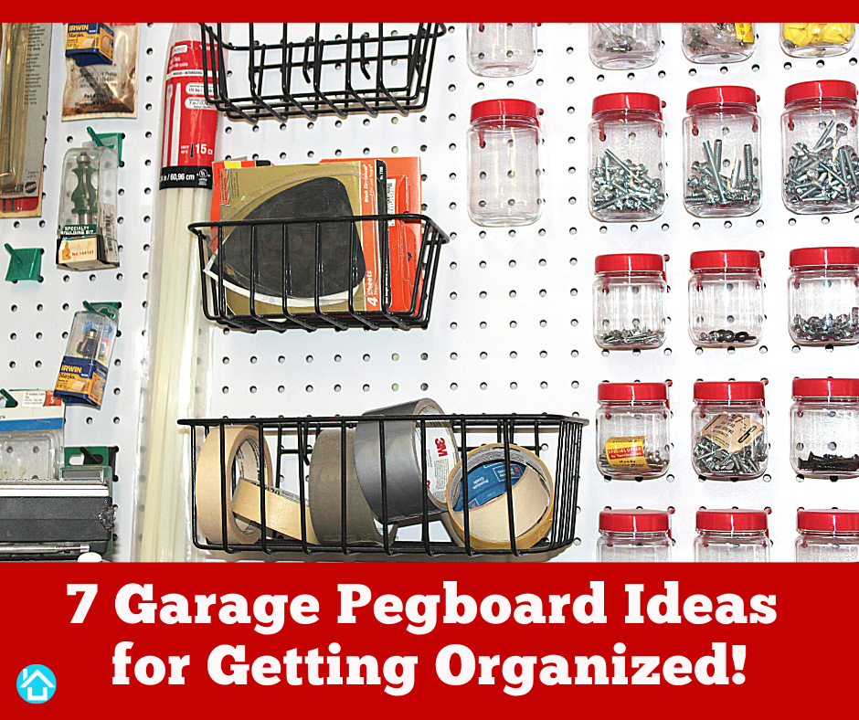 Garage Pegboard Ideas