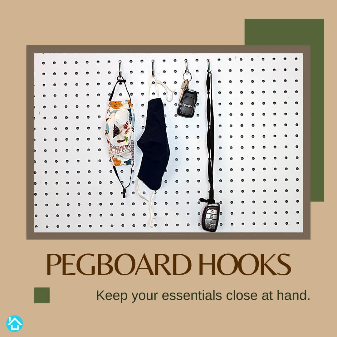 Pegboard Hooks Essential