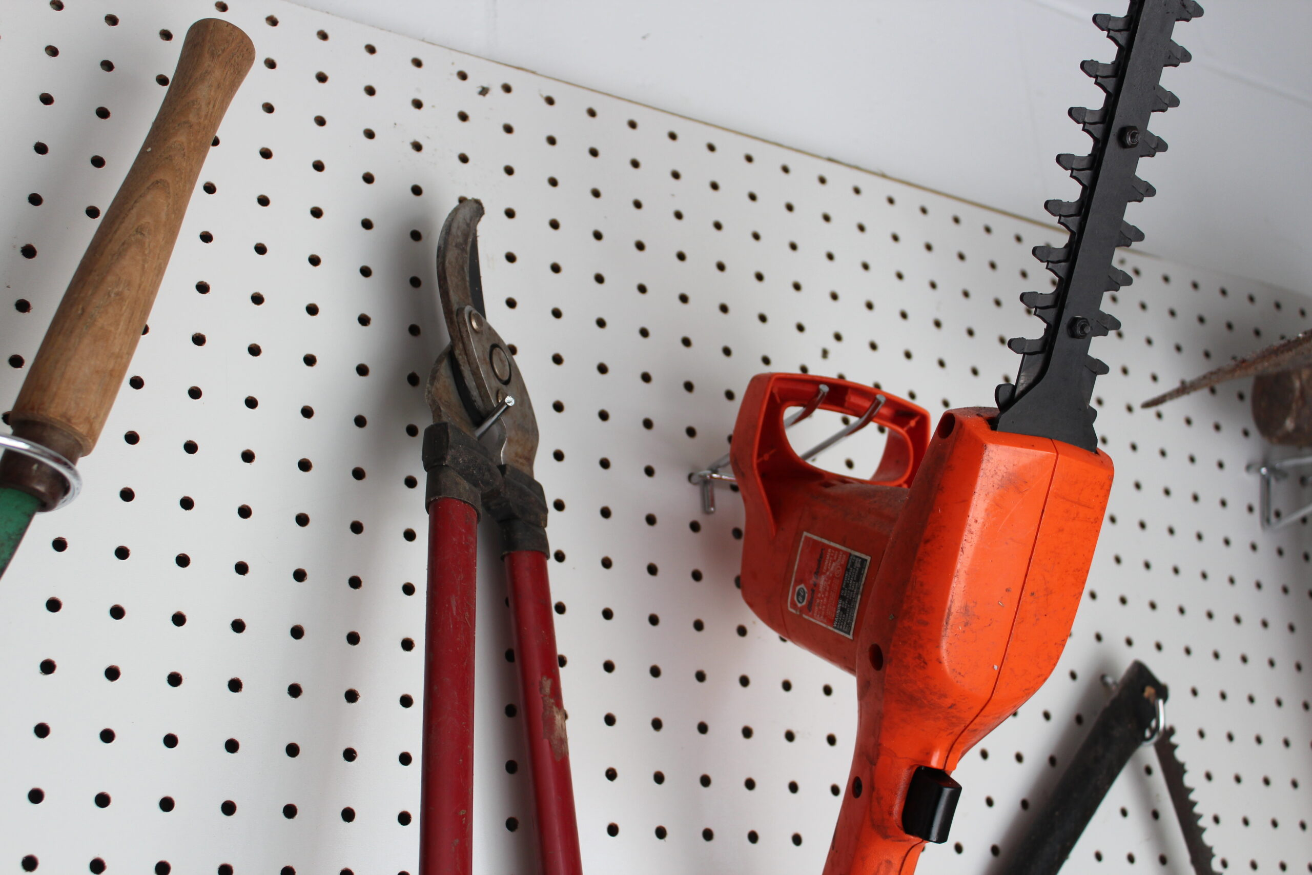 Pegboard Hooks for Power Tools