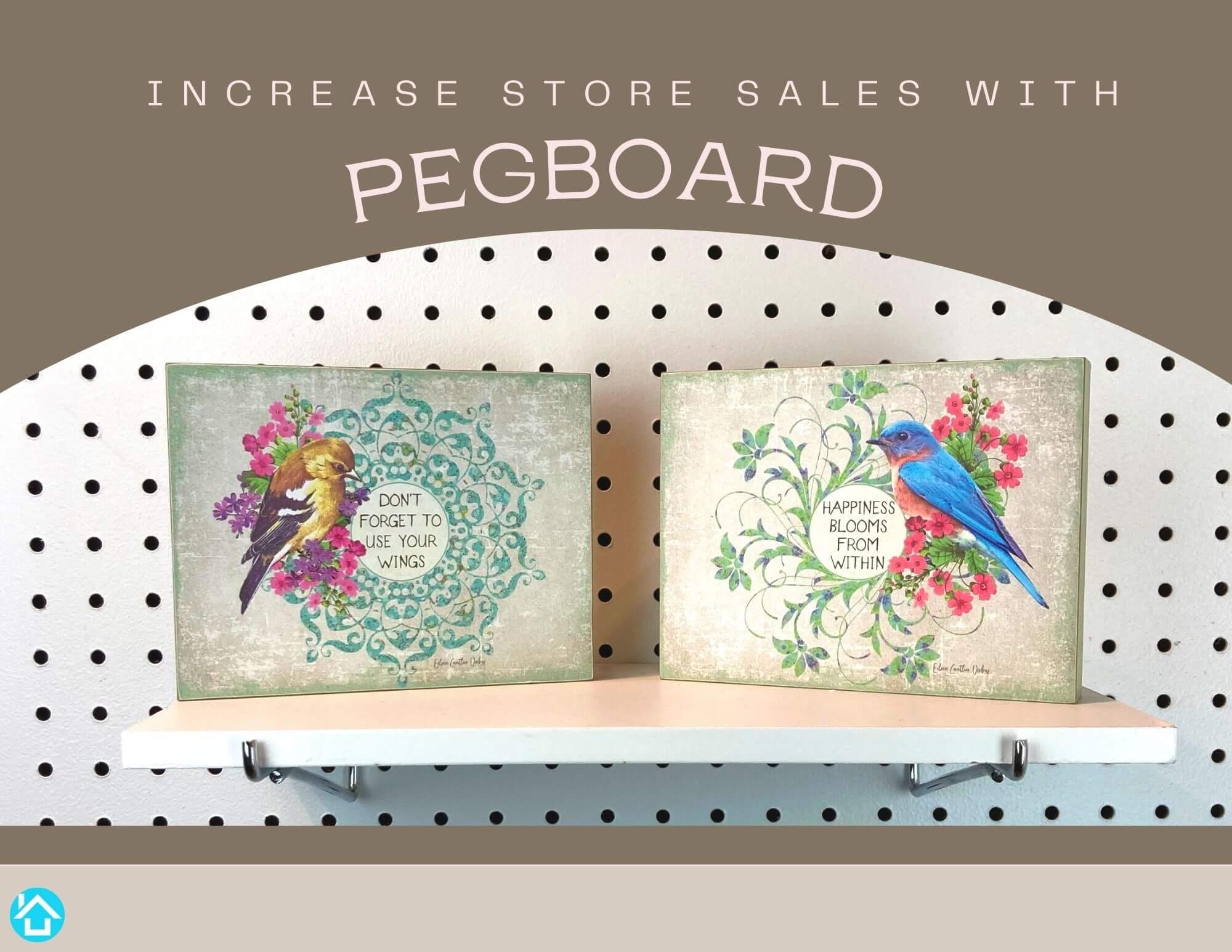 Pegboard Retail Display