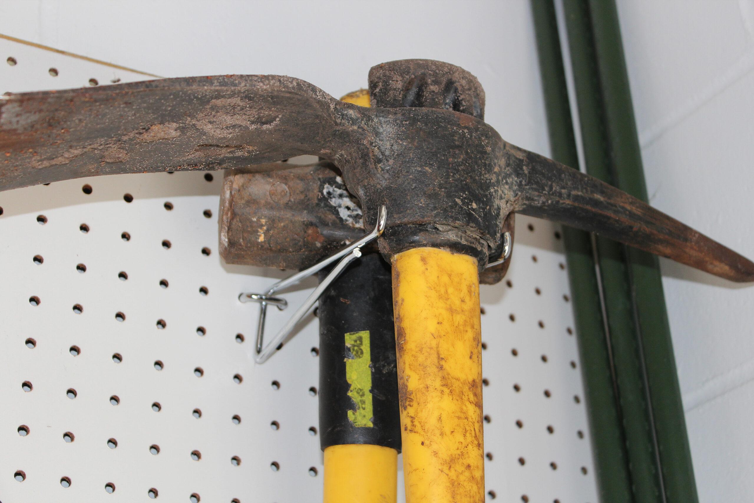 Pegboard Shelf Brackets for Heavy Tools