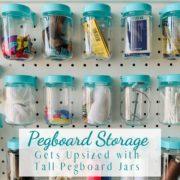 Pegboard Storage