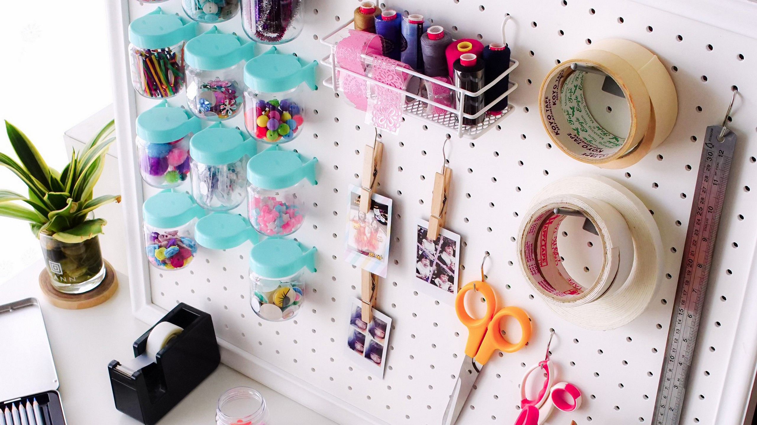 Spring is around the corner,  I am going to show you 6 small space organization hacks for decluttering and reorganizing your craft space.
