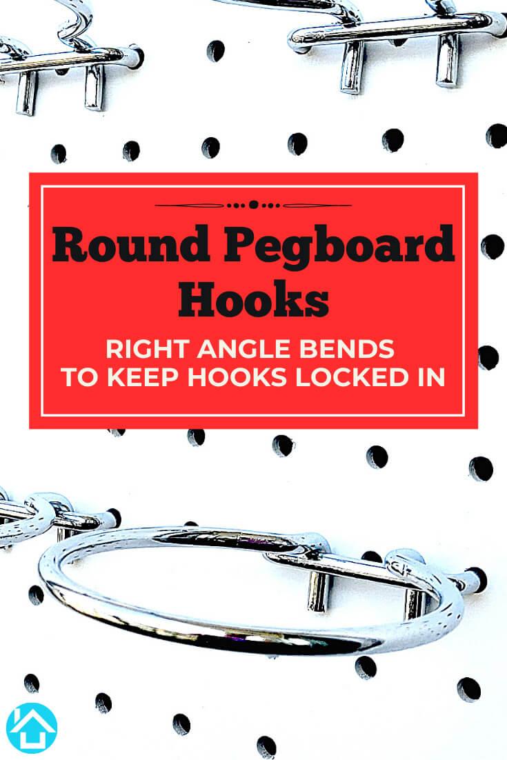 Round Pegboard Hooks