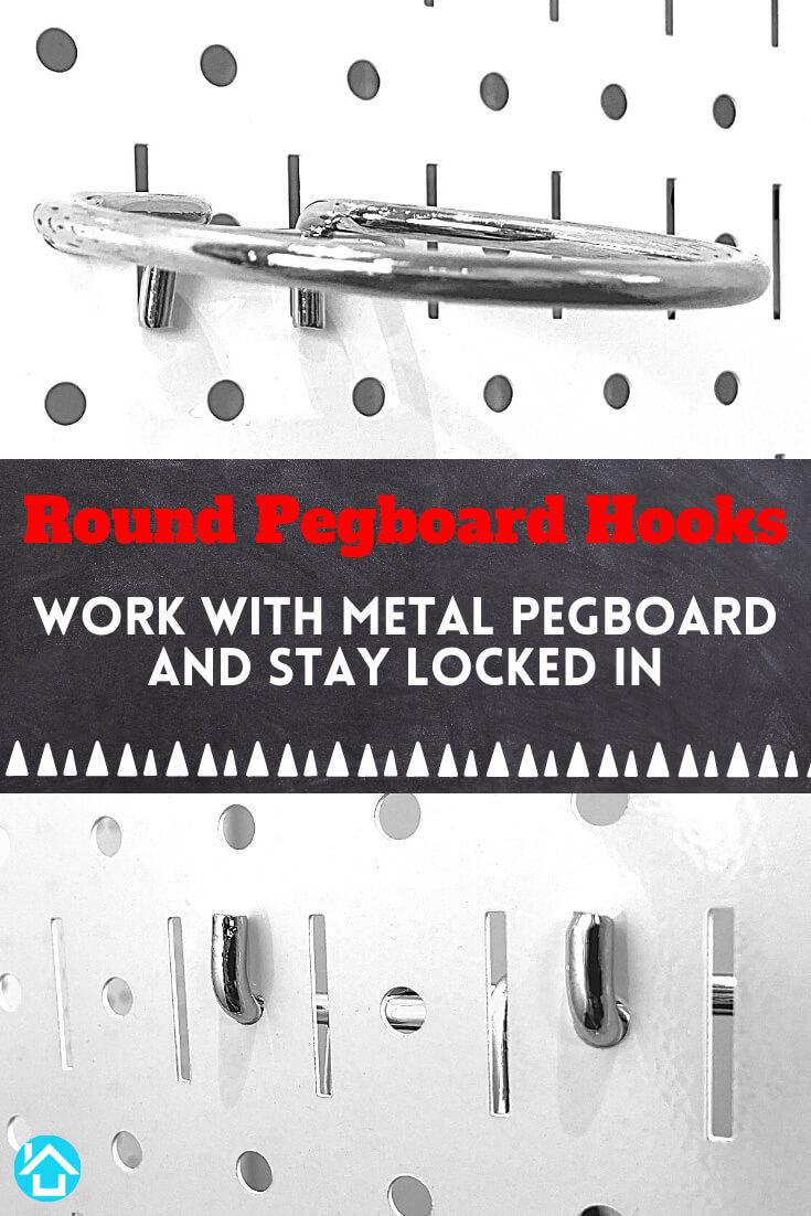 Hooks for Metal Pegboard