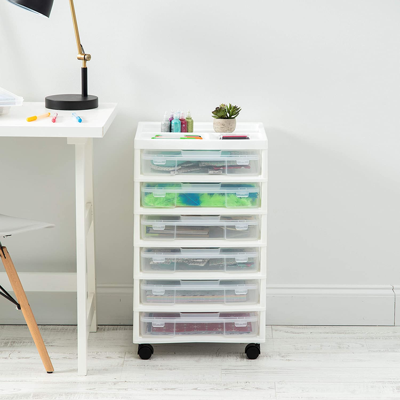 Plastic Drawer Cart