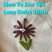 Lazy Daisy Stitch