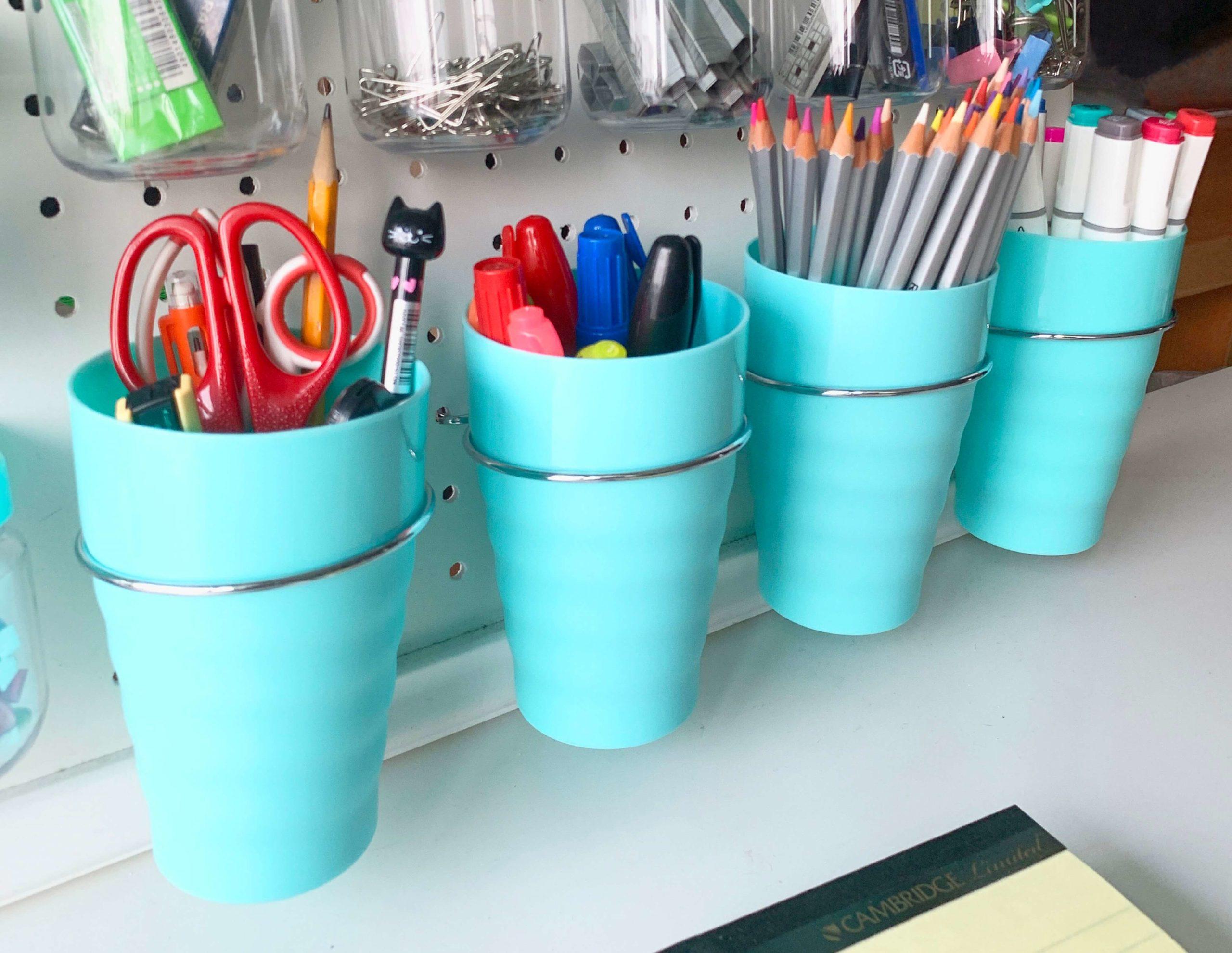 Pegboard Cups