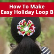 Holiday Loop Bow