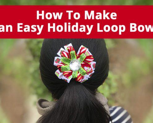 Holiday Loop Bow