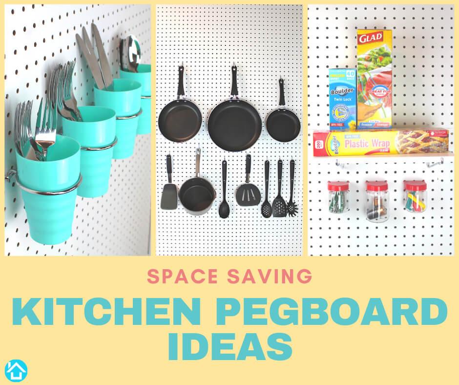 kitchen pegboard ideas